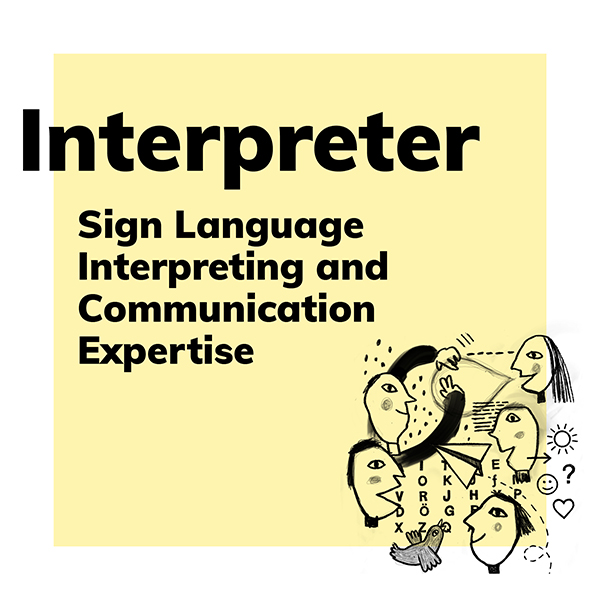 Product category Interpreter: Sign language interpreting and communication expertise